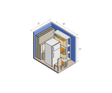 small medium locker option 2